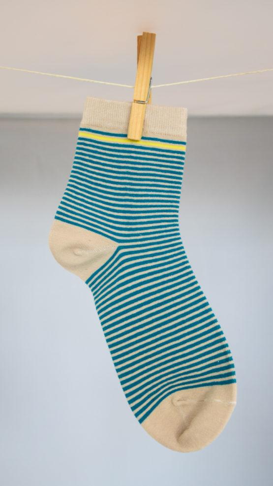 Yellow stripe socks